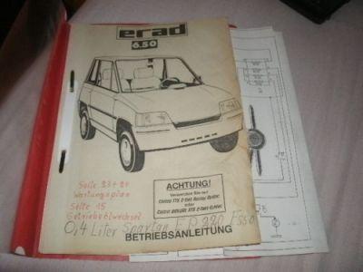 Leichtkraftfahrzeuge • Thema anzeigen - ERAD 6.50 Gebrauchsanweisung ...
