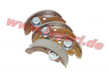 Bremsbacken hinten für alle Aixam-Modelle
