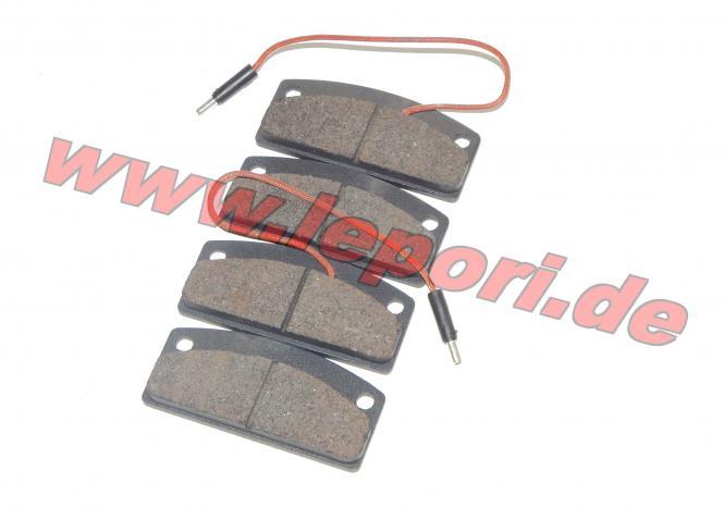 Bremsklötze vorne für Microcar MC1/MC2, Virgo Zubehör