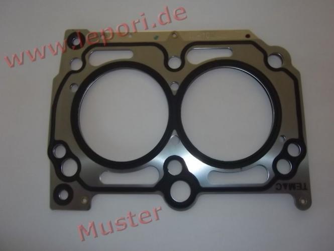 Zylinderkopfdichtung mit 1 Kerbe für Lombardini LDW 502-Dieselmotor